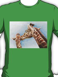 Giraffe and Calf T-Shirt