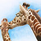 Giraffe and Calf by Lorna Mulligan