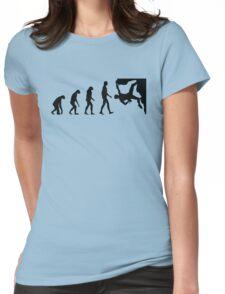 Evolution Climbing Womens Fitted T-Shirt