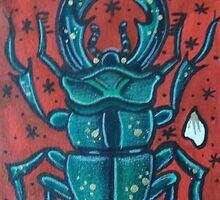 Stag Beetle by alexxmacnair
