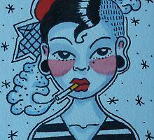 Paris is Smoking by alexxmacnair