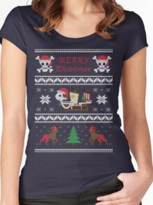 Going MERRY Christmas Women's Fitted Scoop T-Shirt