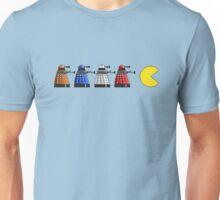 Pixel Daleks vs Pac Man Unisex T-Shirt