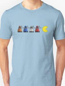 Pixel Daleks vs Pac Man T-Shirt