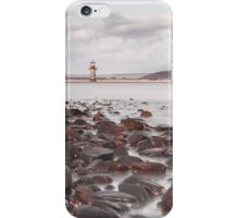 Whiteford lighthouse North Gower iPhone Case/Skin