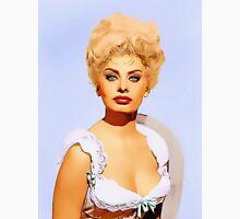 Sophia Loren in Heller in Pink Tights Unisex T-Shirt