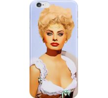 Sophia Loren in Heller in Pink Tights iPhone Case/Skin