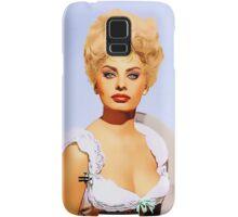 Sophia Loren in Heller in Pink Tights Samsung Galaxy Case/Skin