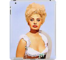 Sophia Loren in Heller in Pink Tights iPad Case/Skin