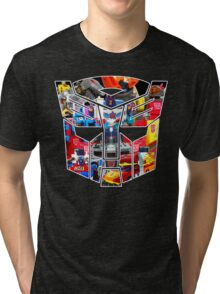 TRANSFORMERS FIGURES!!! Generation 1 Autobot Logo  Tri-blend T-Shirt