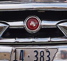 1953,custom,pontiac,chieftain,front,grille by andalaimaging