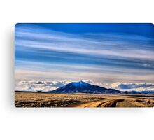 another road to Blue Mnt. Canvas Print