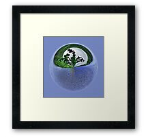 Water, water, everywhere. Framed Print