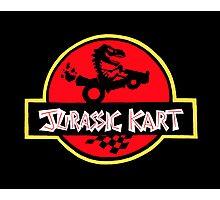 Jurassic Kart Photographic Print