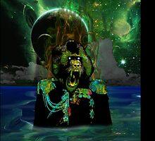 Baboon Admiral by Dark Threads