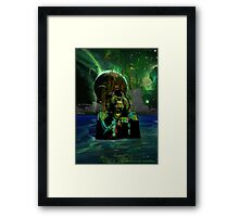 Baboon Admiral Framed Print