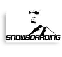 Snowboard,Snowboarder,Ski,Skiing,Apres Ski,Powder Canvas Print