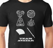 Avatar the Last Airbender: Team Avatar Black Unisex T-Shirt