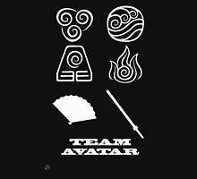 Avatar the Last Airbender: Team Avatar Black Unisex T-Shirt