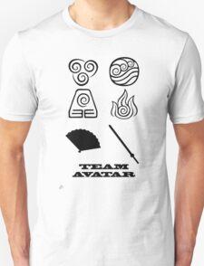 Avatar the Last Airbender: Team Avatar White Unisex T-Shirt