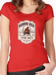Mudders Milk Women's Fitted Scoop T-Shirt