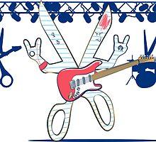 Rock Paper Scissors by graphicgeoff