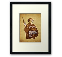 A Fistful Of Ashes  Framed Print