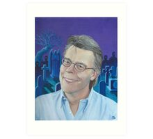 Stephen King Art Print