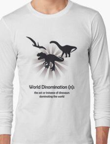 World Dinomination Long Sleeve T-Shirt