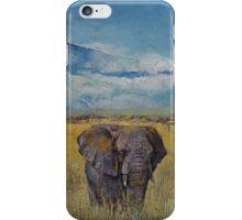Elephant Savanna iPhone Case/Skin