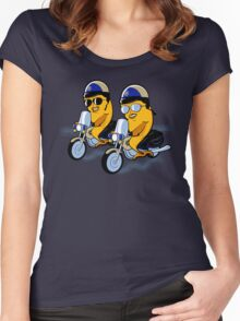 Fish and CHiPs Women's Fitted Scoop T-Shirt