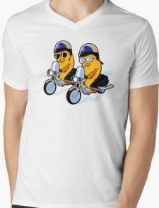 Fish and CHiPs Mens V-Neck T-Shirt