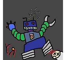 """Robot Apocalypse"" by Richard F. Yates Photographic Print"