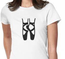 Ballet dancer feet Womens Fitted T-Shirt