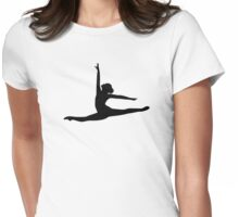 Ballet Dancer Ballerina Womens Fitted T-Shirt