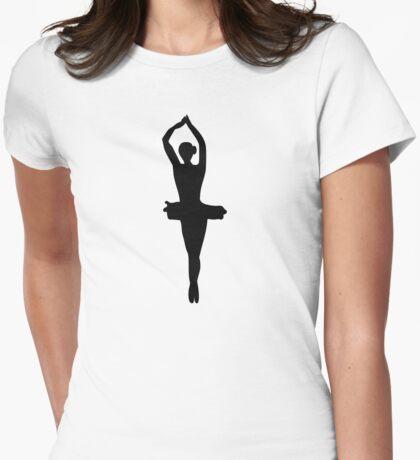 Balett Dancer  Womens Fitted T-Shirt