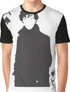 Sherlock - Ace of Spades Graphic T-Shirt