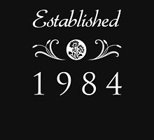 Established 1984 T-Shirt Womens Fitted T-Shirt