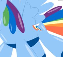 Rainbow Dash Balloon Sticker