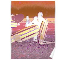 Surf Desert Off road Posters, prints and cards Poster