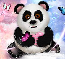 Panda Bear Dreams - On Cloud 9 by soaringanchor