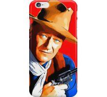 John Wayne in Rio Bravo iPhone Case/Skin