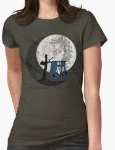 The Persistence of Timey Wimey Grunge Womens Fitted T-Shirt