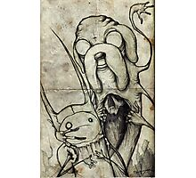 Adventure Time Darkness Photographic Print
