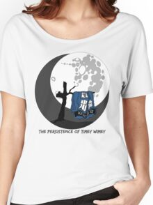 The Persistence of Timey Wimey Clean Women's Relaxed Fit T-Shirt