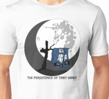 The Persistence of Timey Wimey Clean Unisex T-Shirt