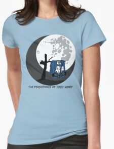 The Persistence of Timey Wimey Clean Womens Fitted T-Shirt