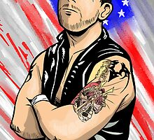 Davey Richards by bobdahlstrom