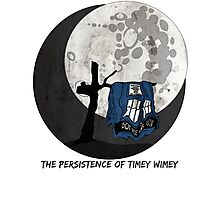The Persistence of Timey Wimey Grunge Photographic Print