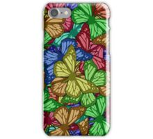 Colorful Butterflies Case iPhone Case/Skin